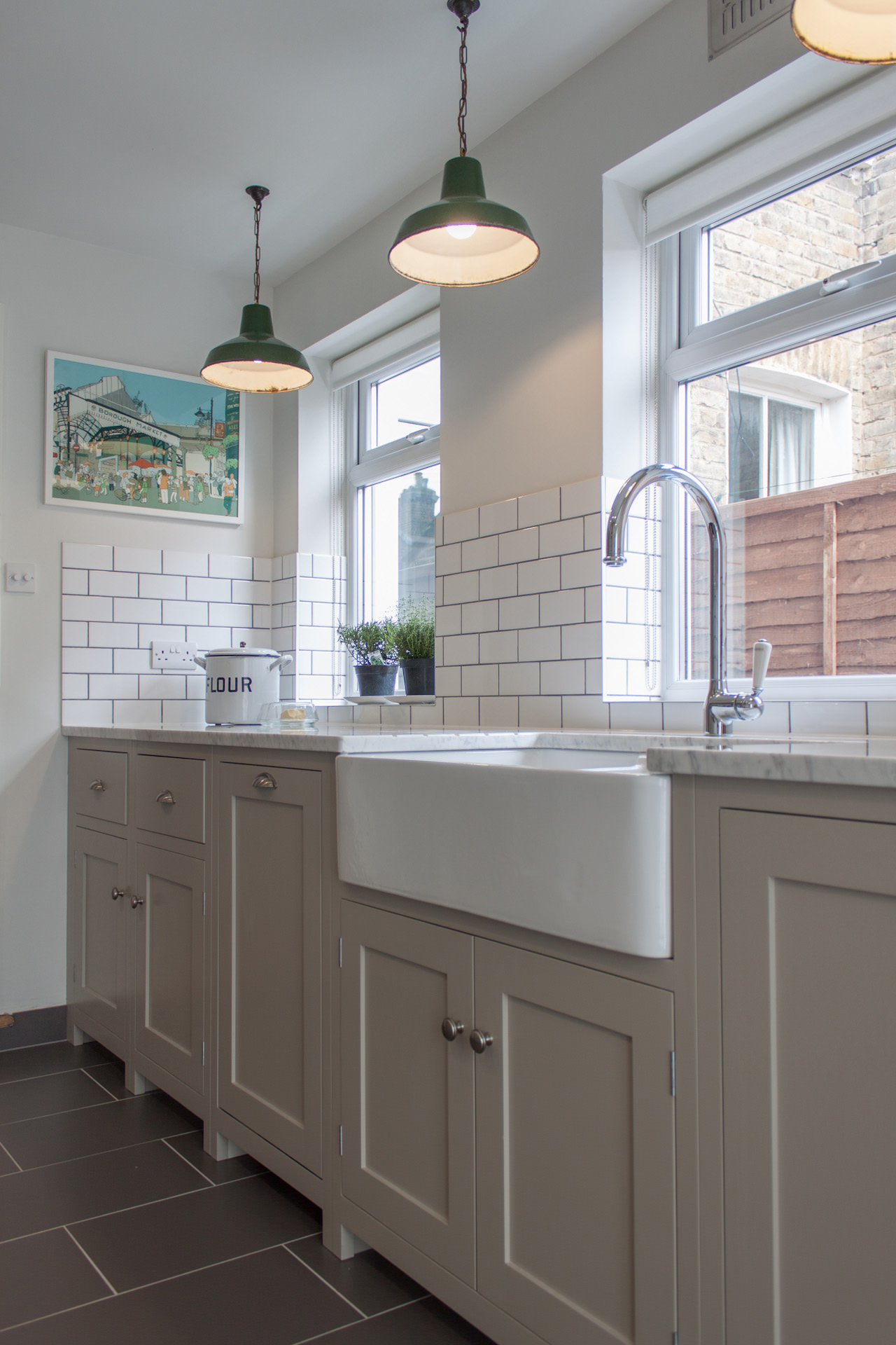 A galley with style devol kitchens blog for Shaker kitchen designs