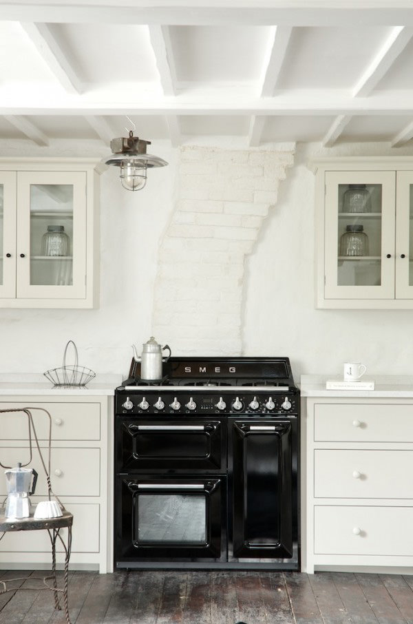 Smeg and devol join up for a photo shoot the devol - Cucine a gas black friday ...
