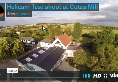 Cotes Mill from above!