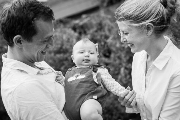 deVOL-kitchens-blog-photography-staff-Jenny Jelley-baby-black and white-family-happy