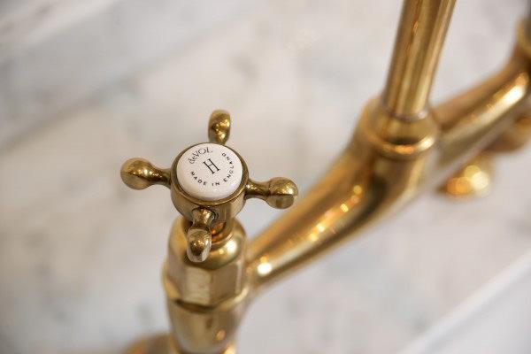The Perfect Antique Brass Tap By Devol The Devol Journal