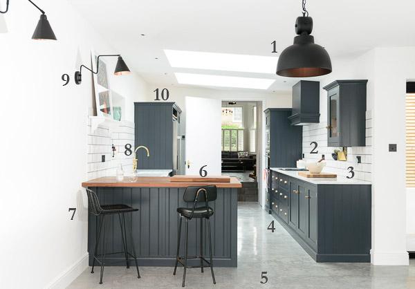 Clapham Shaker Kitchen: DeVOL Directory: The East Dulwich Kitchen