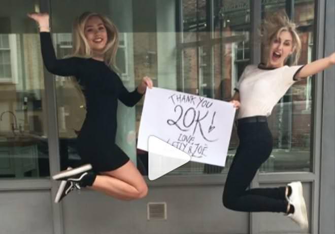 We hit 20K Instagram followers!!!