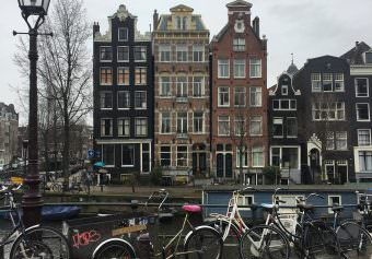 A wet weekend in Amsterdam
