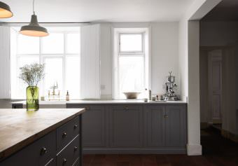 Cool as can be…………………..A new Shaker Kitchen shoot 'The Cheshire Townhouse'