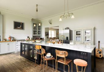 Photographing Pearl Lowe and Danny Goffey's beautiful kitchen has been the highlight of my busy Summer.