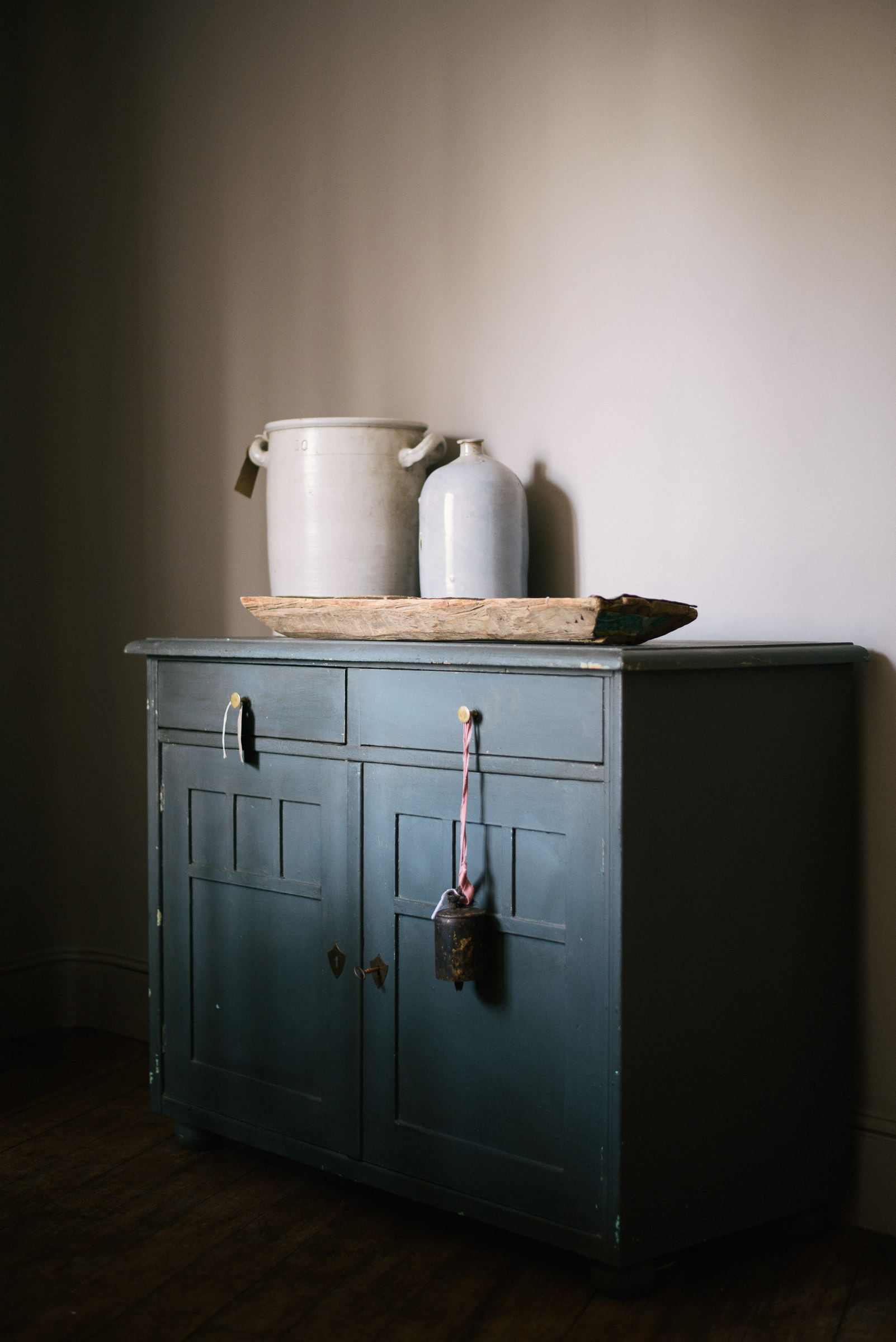 Cupboards, pots and simple inspiration here at Cotes Mill