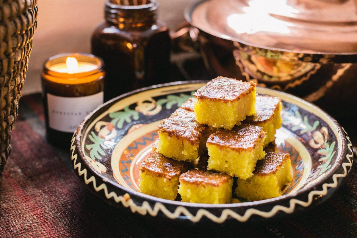moroccan orange cake