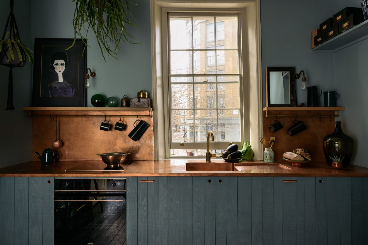 Our brand new Sebastian Cox Kitchen in our St. John's Townhouse.