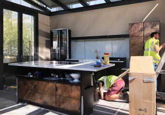 """elemental"" – a kitchen by Charlie Smallbone and deVOL"
