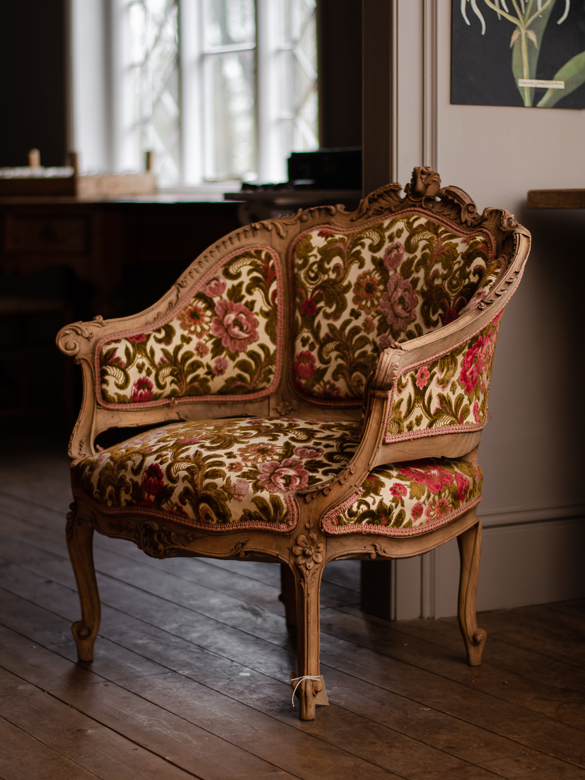 Flower Patterned Chair