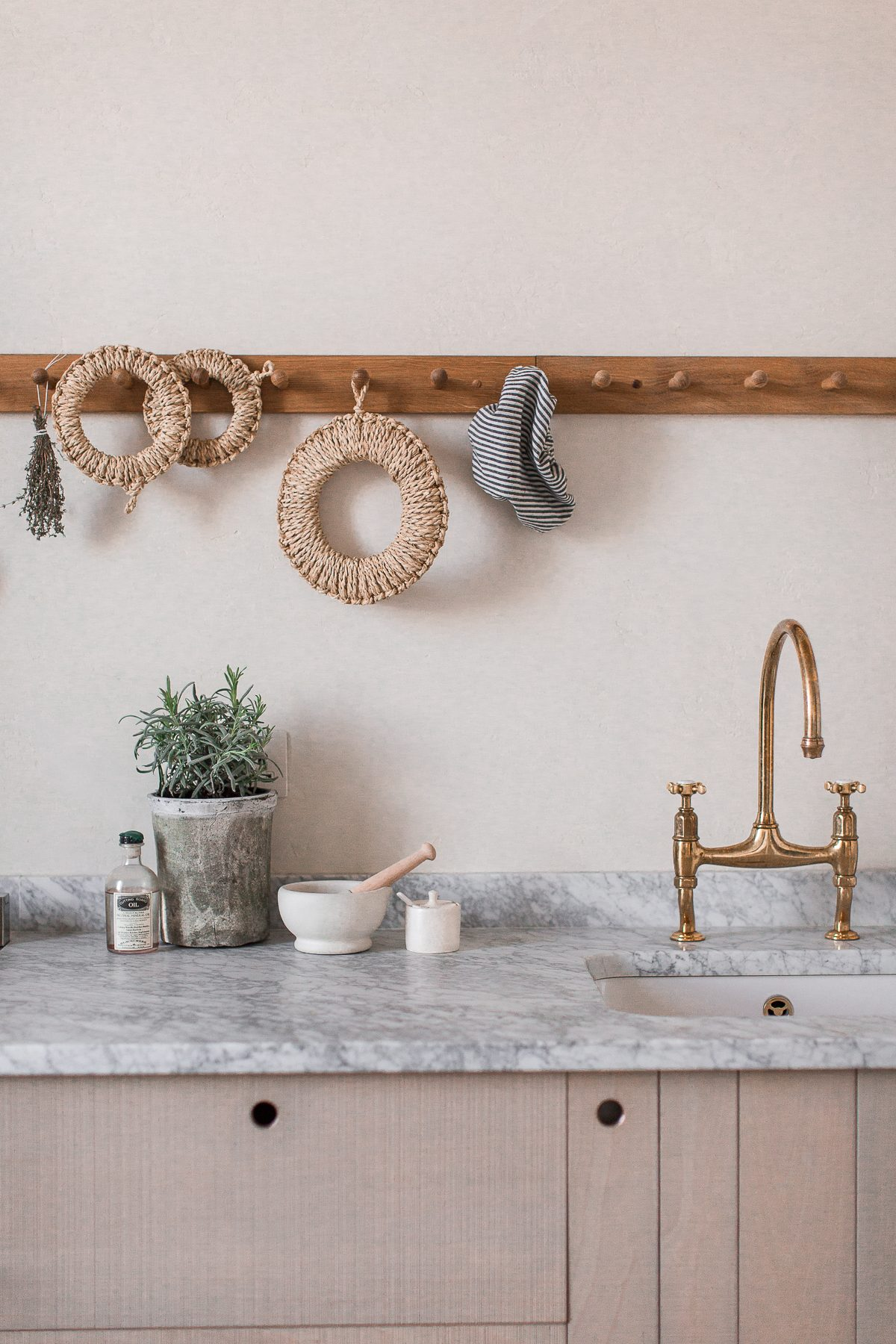 A natural kitchen by deVOL for Ingredients LDN