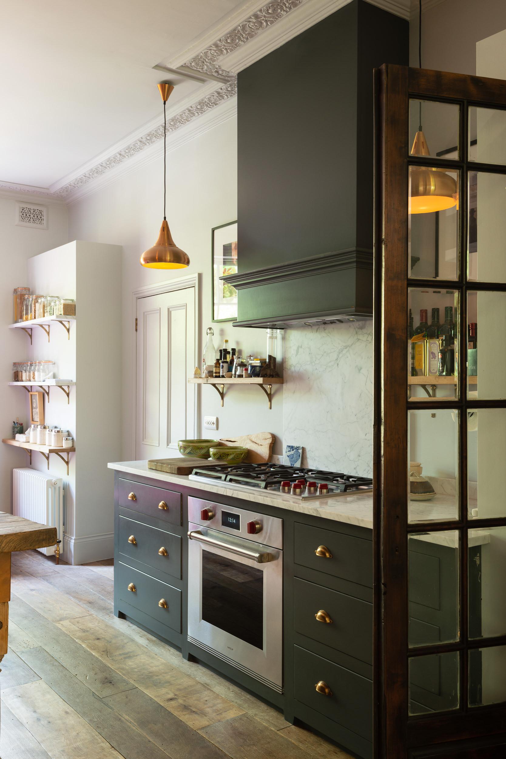 The Islington Townhouse Kitchen by deVOL