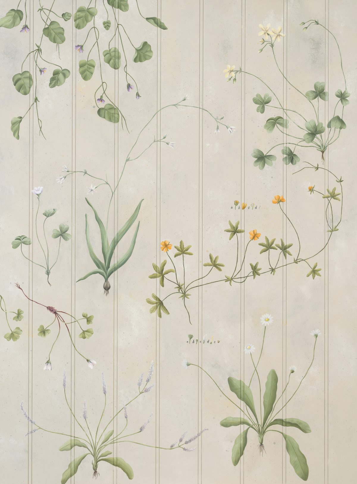 'Wild Flowers' is the most delicate and understated of all our designs.