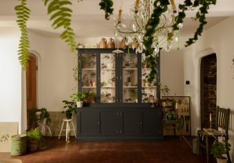 Decorated cupboards by deVOL