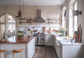 Renovating An Old Schoolhouse Into The Coolest deVOL Kitchen