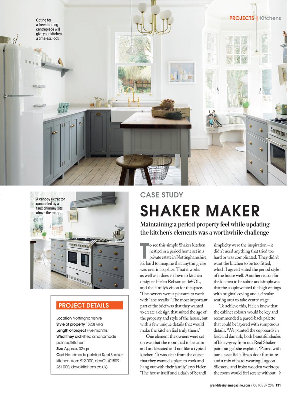 Grand Designs | deVOL Kitchens