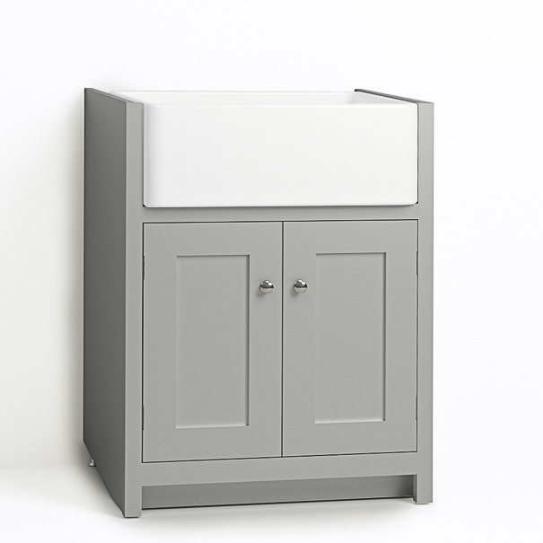 Kitchenette Sink Cabinet: DeVOL Kitchens