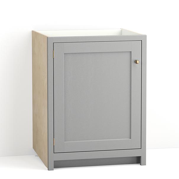 Base Cabinets Devol Kitchens, What Depth Are Kitchen Base Units