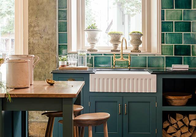 The clapham kitchen devol kitchens for Kitchen ideas st johns woking