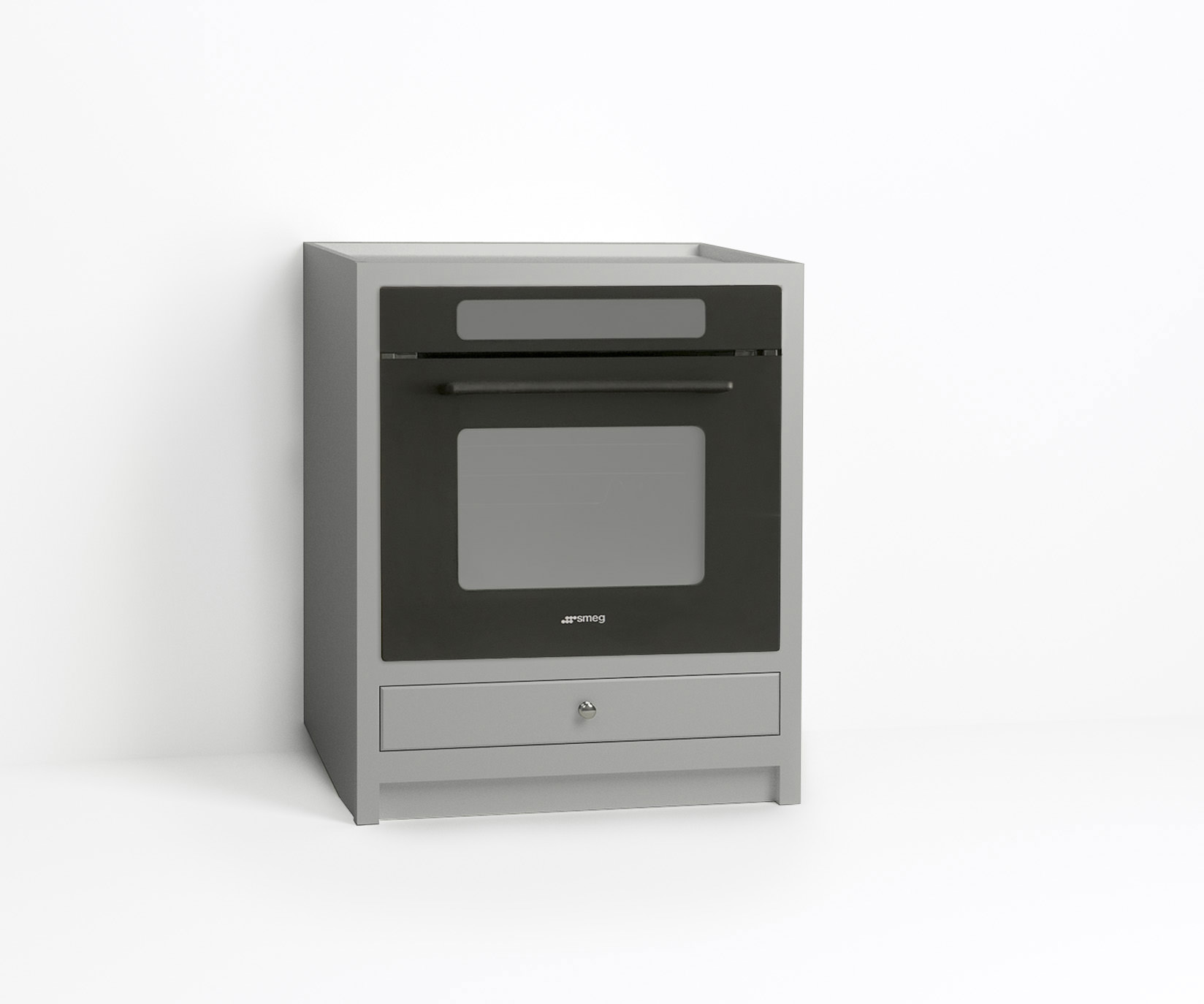 Base oven cabinets - 670mm Single Oven Cabinet