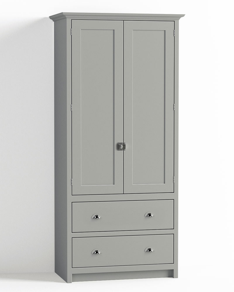 Shaker kitchen brochure devol kitchens - 900mm Pantry Cupboard With Drawers