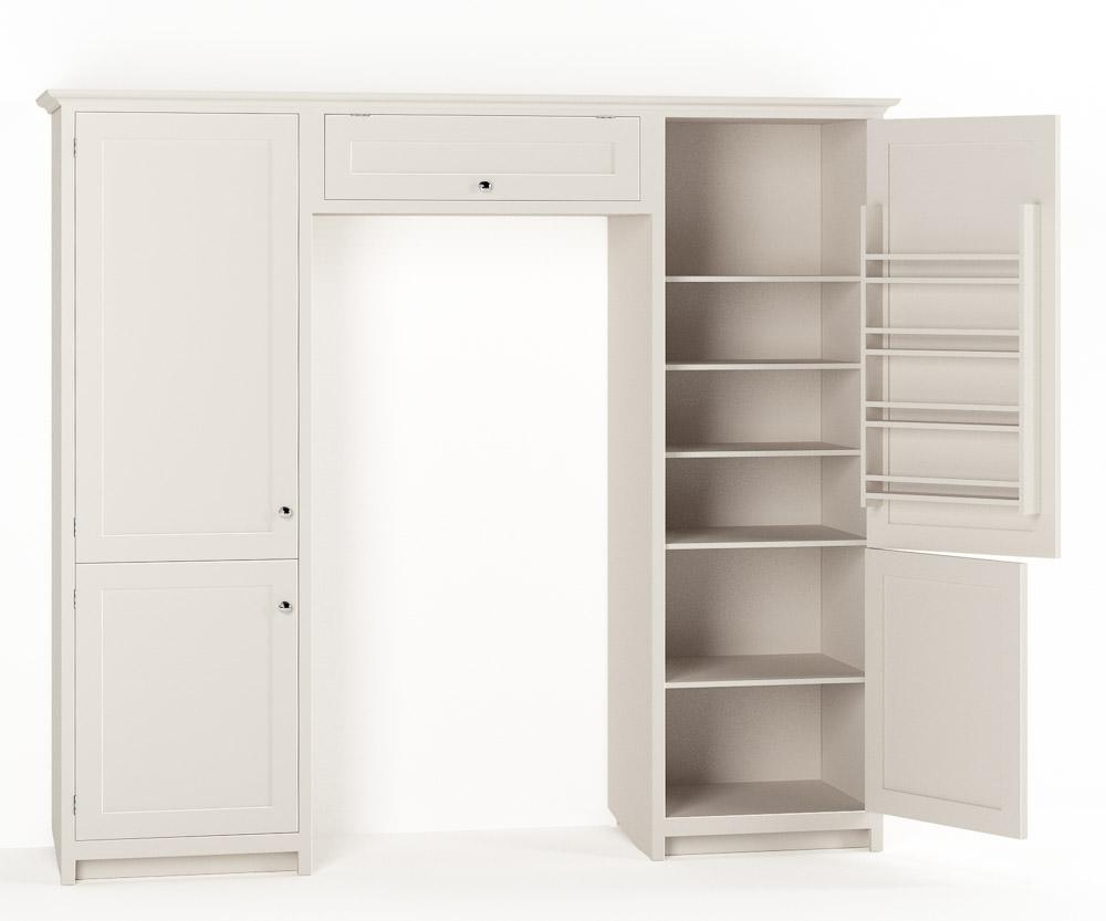 Shaker Kitchen Catalogue - Full Height Cabinets   deVOL ...