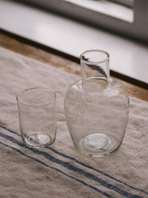 Bon Nuit Bottle with Glass