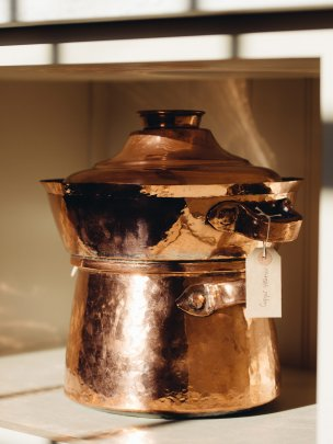 Copper Steamer and Jam Pan
