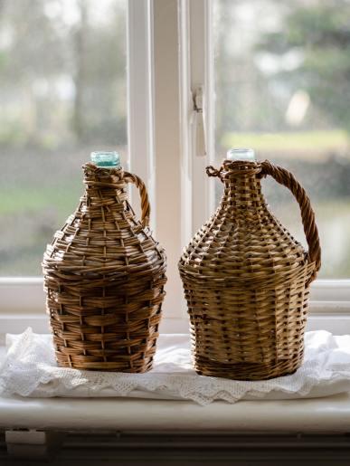 Woven Wine Bottles
