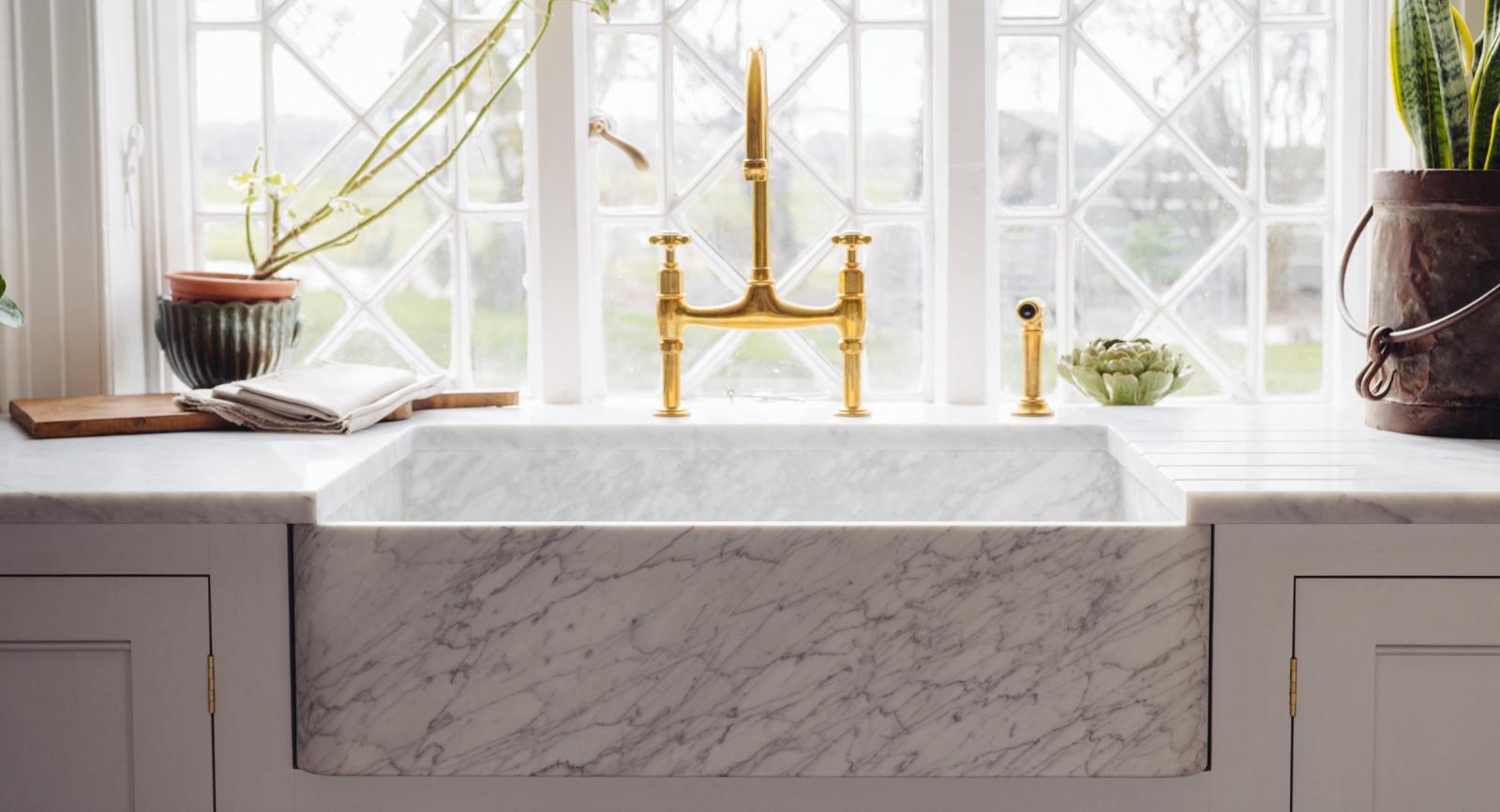 Carrara Marble Sinks By Devol
