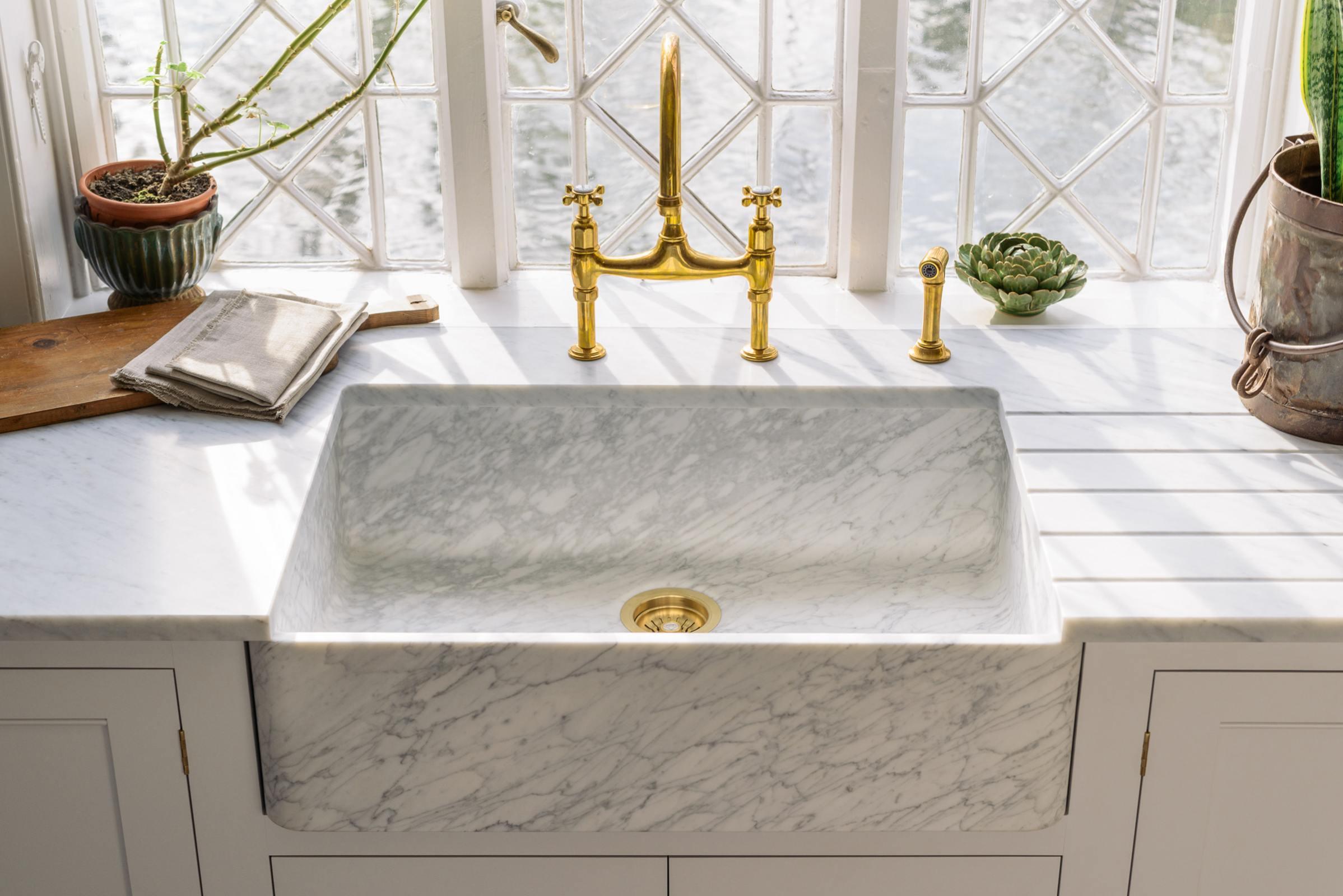 Milano Penthouse 800 Single Marble Sink photo 4