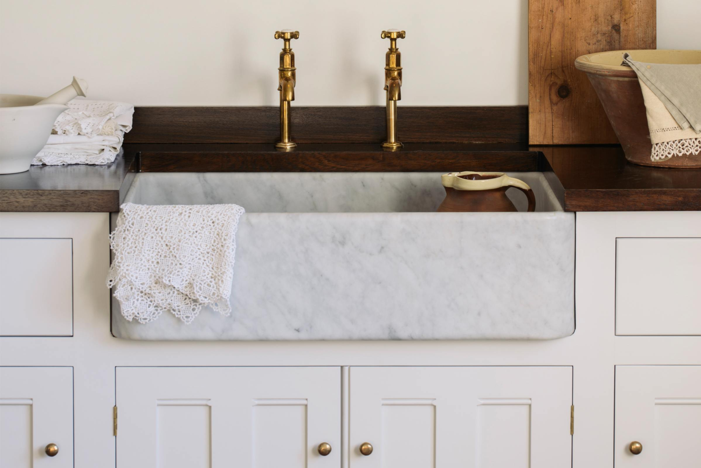 Tuscan Farmhouse 800 Single Marble Sink photo 5
