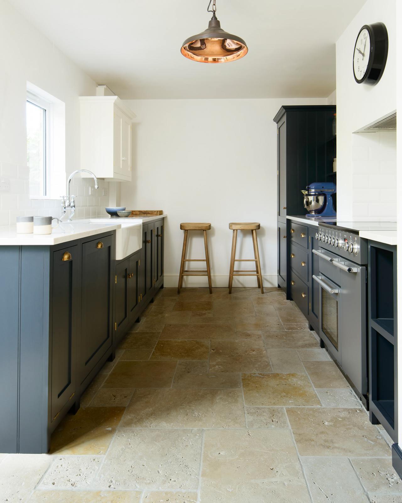 Travertine Tiles Devol Kitchens