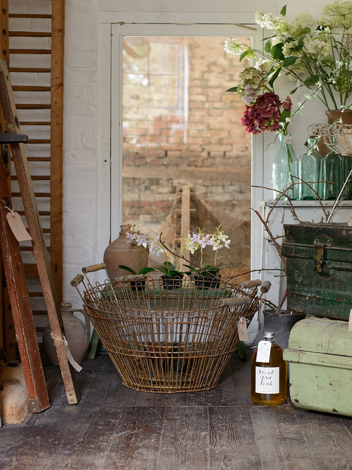 French Wire Baskets photo 1