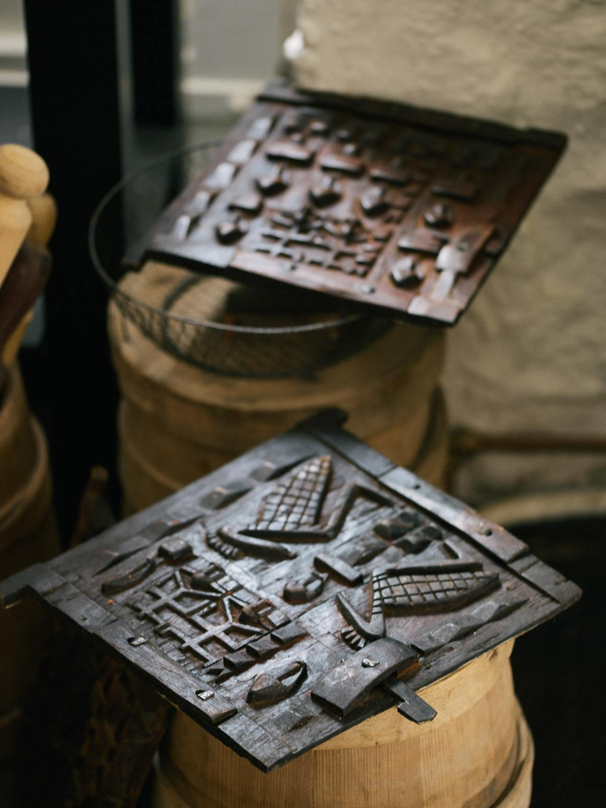 Mali Carved Wall Hanging photo 2