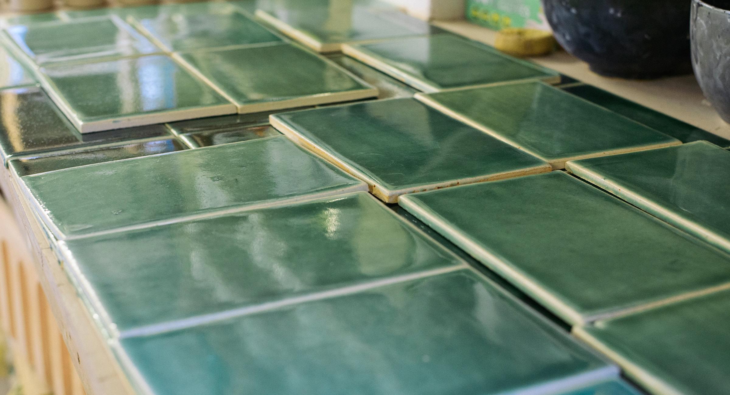 deVOL Emerald Green London Tiles photo 5