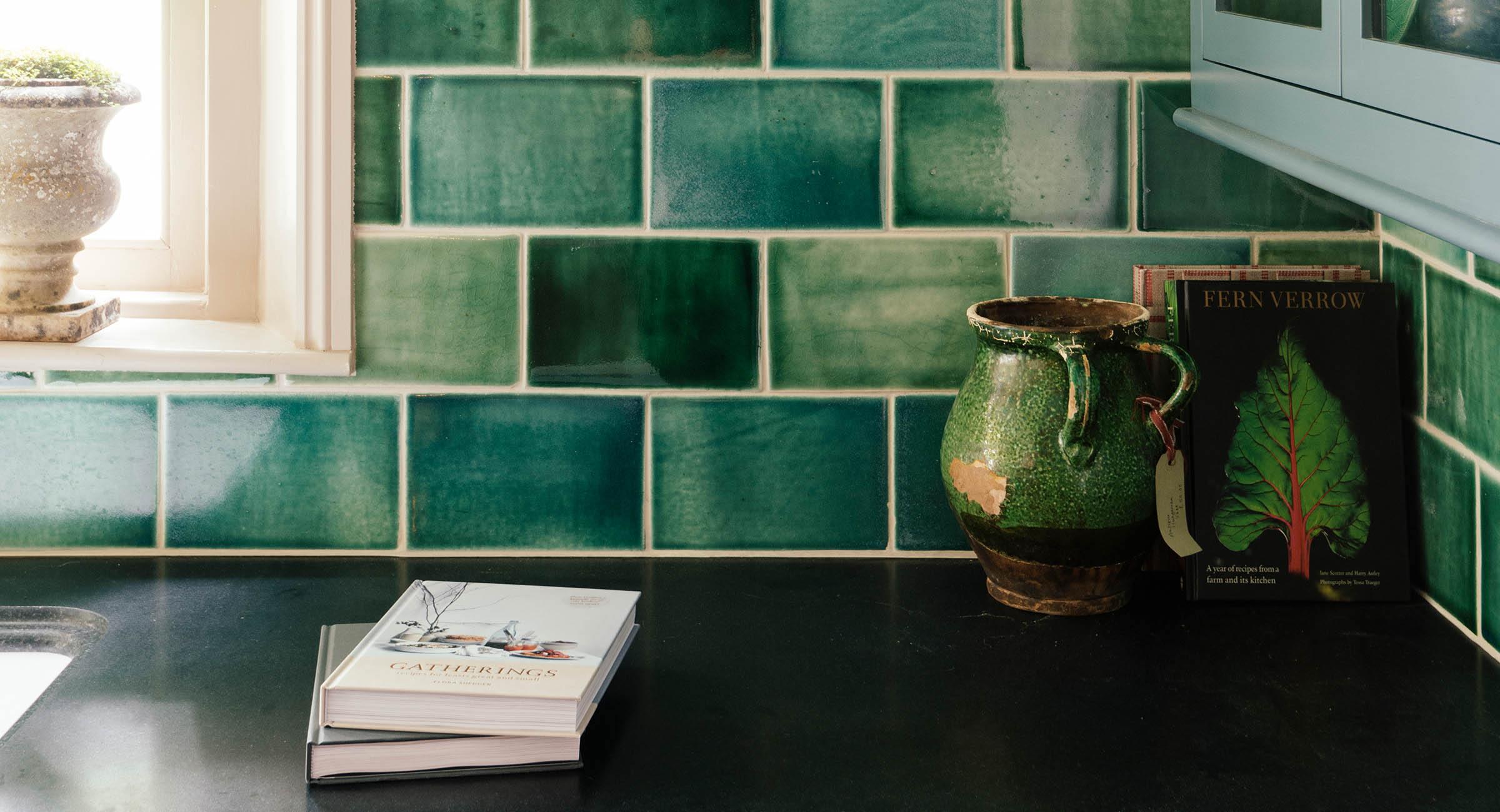 deVOL Emerald Green London Tiles photo 2