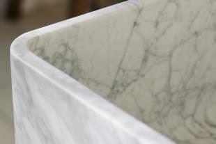 Milano Penthouse 800 Single Marble Sink photo 5 thumbnail