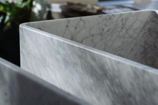 Milano Penthouse 800 Single Marble Sink photo 8 thumbnail