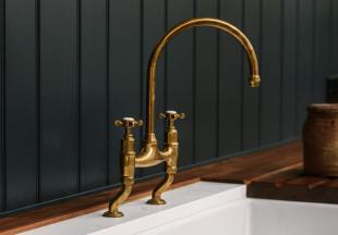 deVOL Aged Brass 'Ionian' Tap photo 3 thumbnail