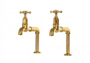 deVOL Aged Brass 'Mayan' Taps photo 1 thumbnail