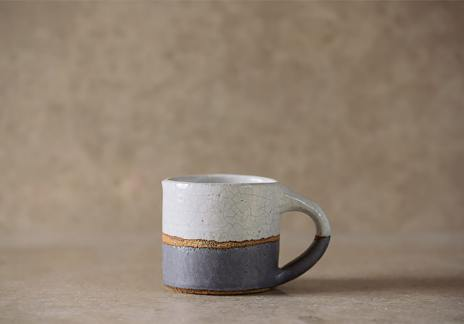 Crackle Top Mug