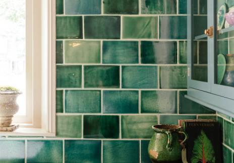 deVOL Emerald Green London Tiles