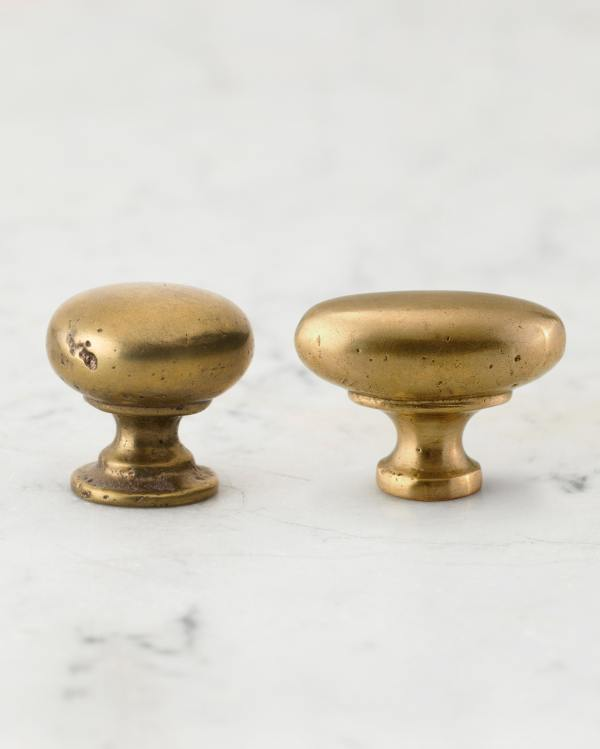 Aged Brass Knobs