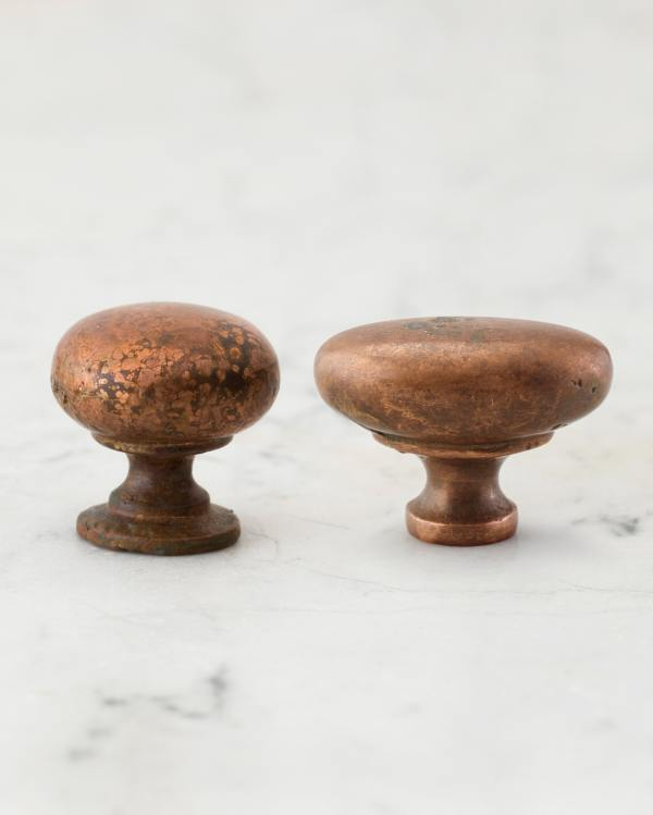 Aged Copper Knobs