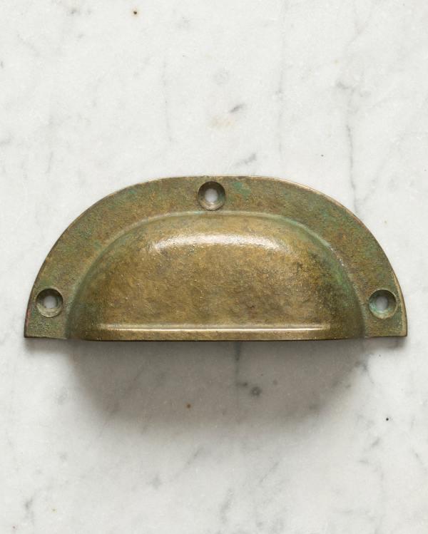 Aged Verdigris Brass Classic Handle