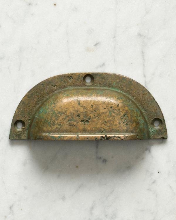 Aged Verdigris Bronze Classic Handle