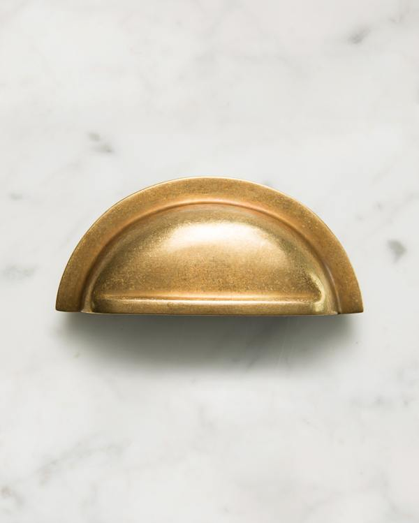 Bella Brass Cup Handle