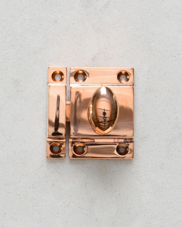 Burnished Copper Cupboard Catch